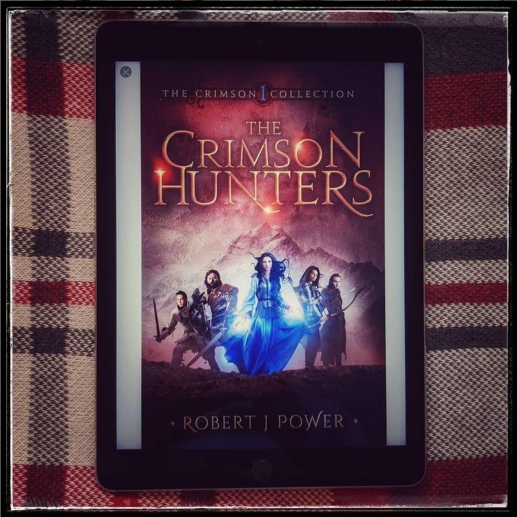 Robert J Power- The Crimson Hunters